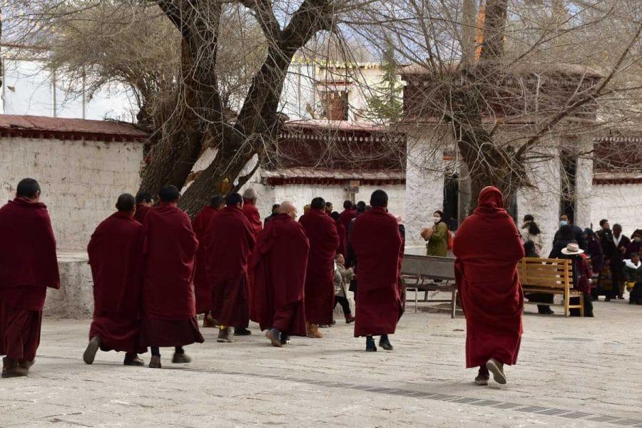 Monks at Sera Monastery, Lhasa
