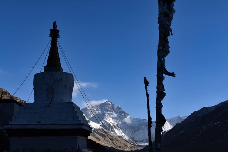 Rongbuk Monastery & Everest