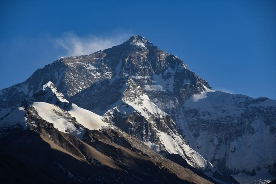 Mount Everest, Tibet