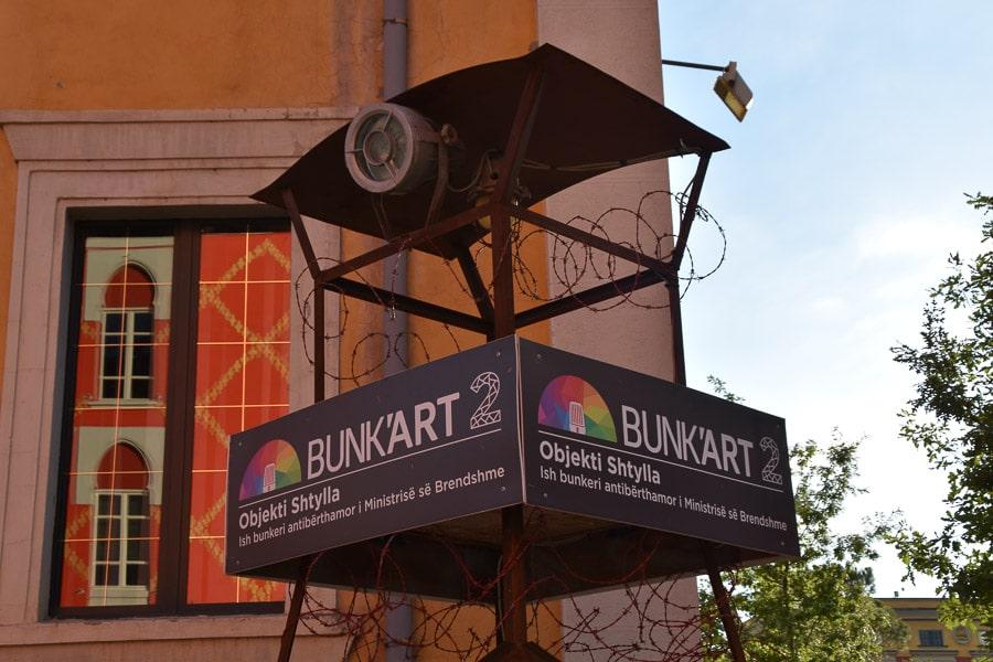 Guard Tower at BunkArt 2