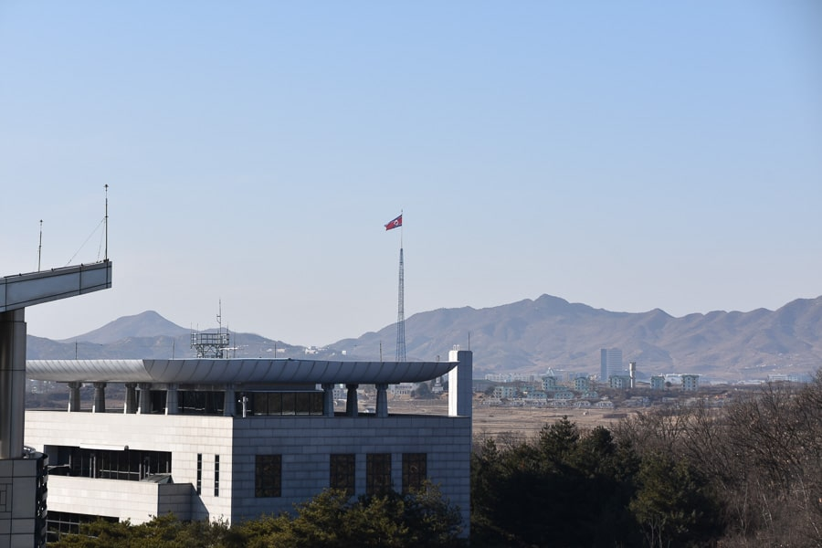 DMZ Panmunjom, North Korea