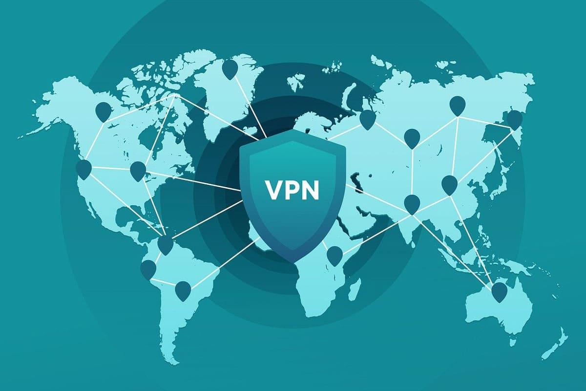 VPN Server Map