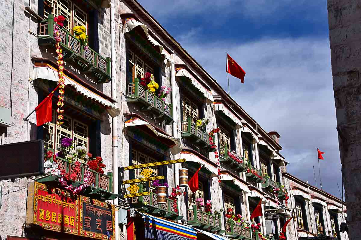 Central Lhasa, Tibet