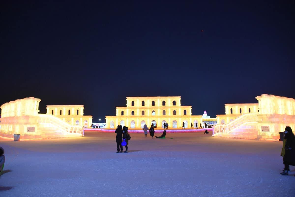 Harbin Ice Festival 2021