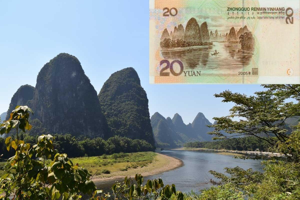 China Landmarks - 20 Yuan