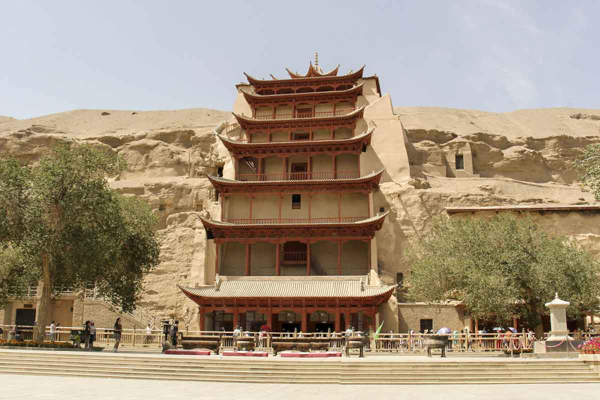 Mogao Caves, top Chinese landmark