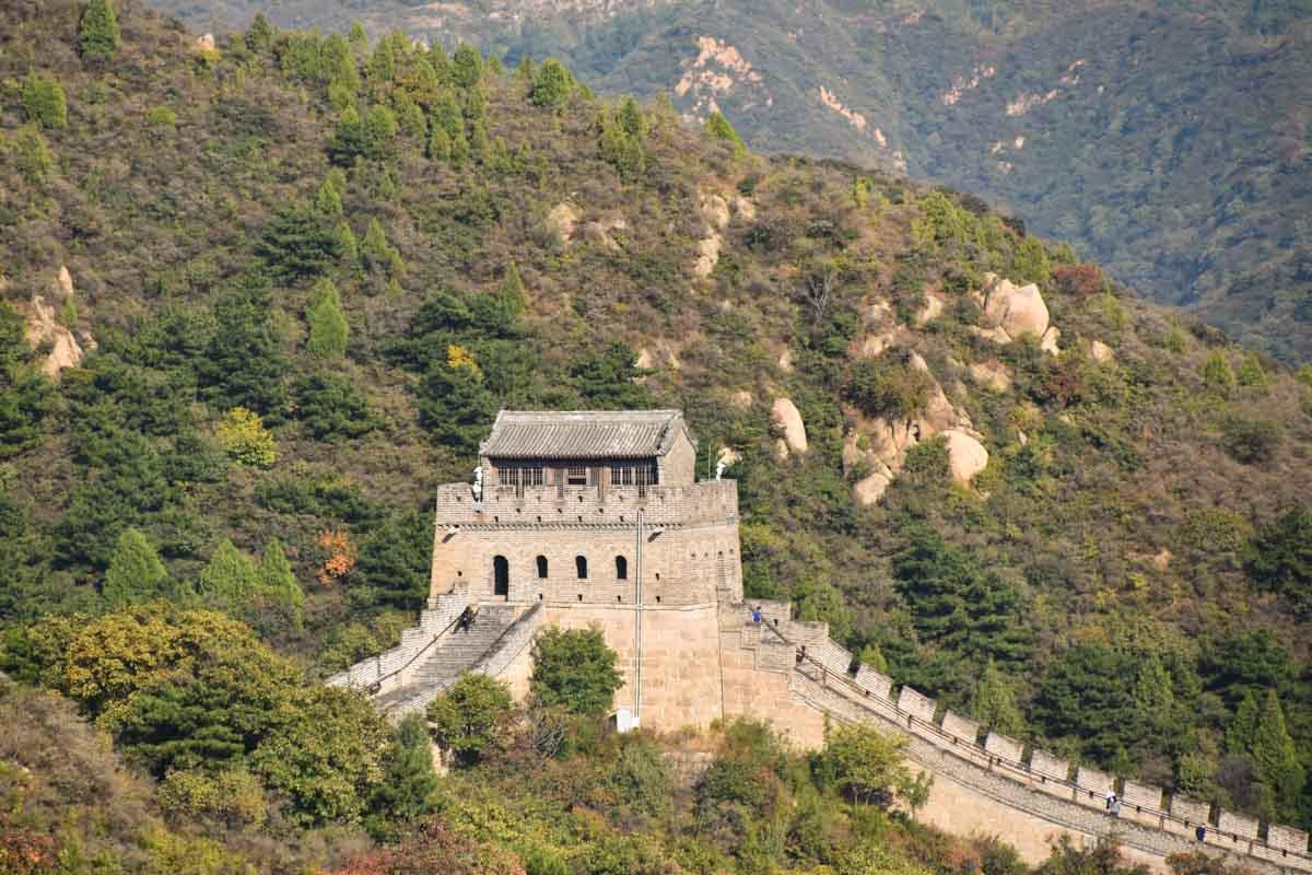 Wall and Tower at Badaling