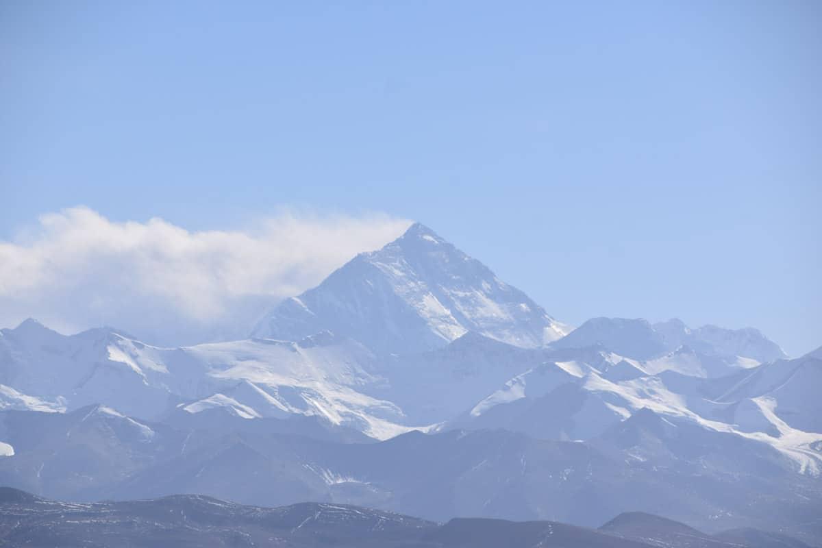 Mount Everest - famous landmarks in asia