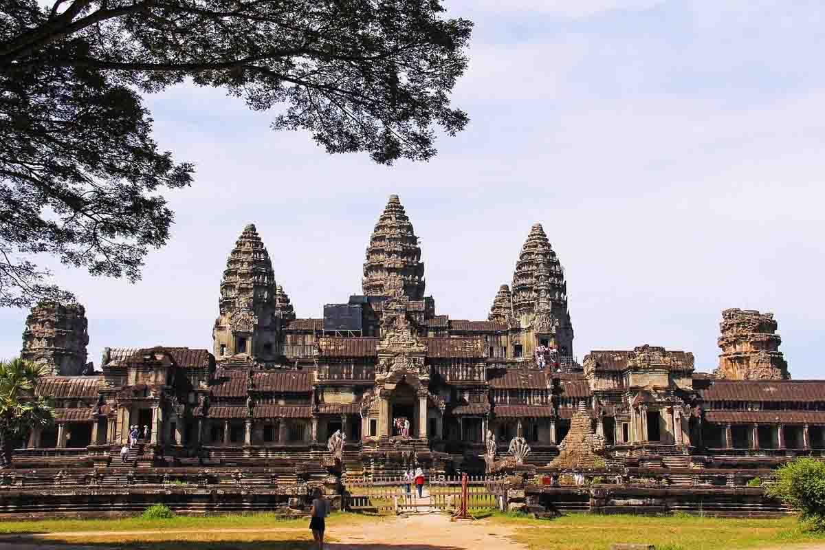 Lanmarks in Asia - Angkor Wat