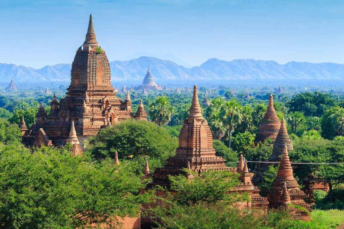 Lanmarks in Asia - Bagan