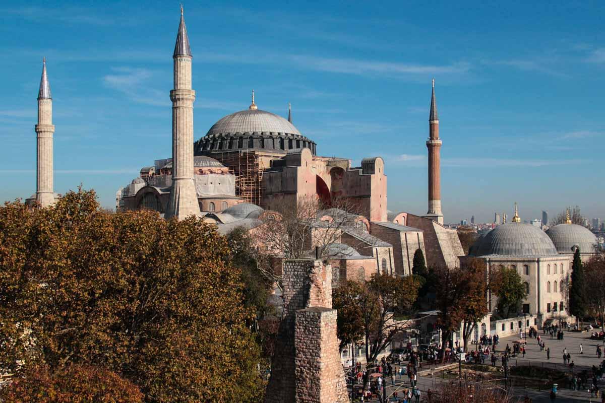 Asia Landmarks - Hagia Sophia